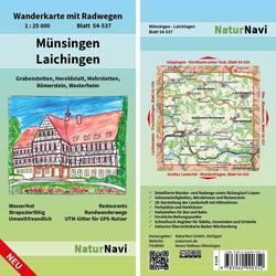 Münsingen - Laichingen 1 : 25 000 Blatt 54-537