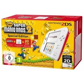 Nintendo 2DS weiß / rot + New Super Mario Bros. 2 (Bundle)