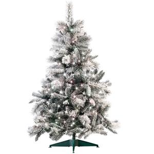 Künstlicher Weihnachtsbaum im Schneedesign, 180 cm, mit 300 LEDs