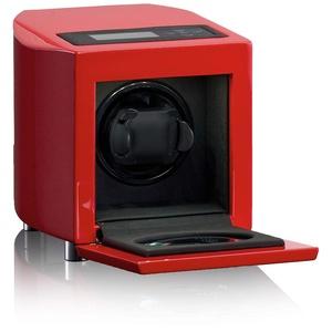 HEISSE & SÖHNE SEIT 1976® Uhrenbeweger Curve Rot für 1 Automatikuhr