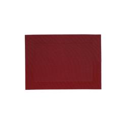 Platzset, Nicoletta, kela rot 33 cm x 45 cm