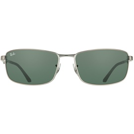Ray Ban RB3498 gunmetal / green classic
