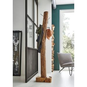 Junado® Kleiderständer Zagon, Garderobenständer hohe Belastbarkeit massiver Standfuß