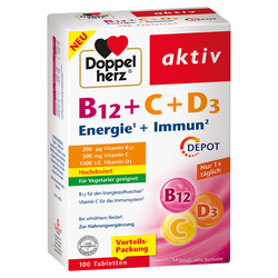 DOPPELHERZ B12+C+D3 DEPOT