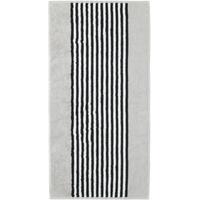 Handtuch 2 x 50 x 100 cm silber