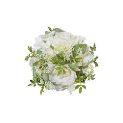 Kunstblume Kunstblume, Creativ green, Höhe 15 cm weiß