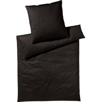 Yes for Bed Pure & Simple Uni schwarz (155x220+80x80cm)