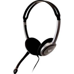 V7 Videoseven Boom MIC PC-Headset 3.5mm Klinke Stereo On Ear