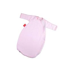 Hoppediz Babyschlafsack HD Baby-Schlafsack 56-62 rosé gestreift mit Gurtsc