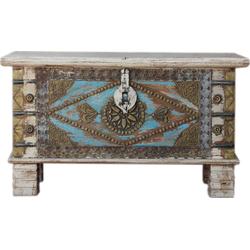 Guru-Shop Couchtisch Vintage Holzbox,Holztruhe, Couchtisch,..