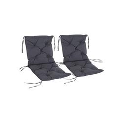 Outsunny Hochstuhlauflage Stuhlauflage als 2er-Set