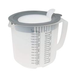 DR.OETKER Messbecher Rührbecher 1,4 Liter mit Spritzschutz