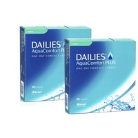 Alcon DAILIES AquaComfort Plus Toric, 180er Pack / 8.80 BC / 14.40 DIA / -4.50 DPT / -1.25 CYL / 90° AX