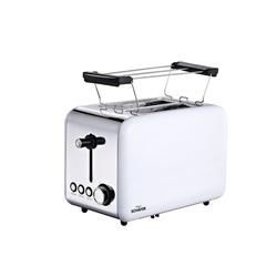 Schäfer Elektronik Toaster Toaster Deluxe, 2 Schlitz-Toaster, 850 W weiß