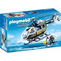 Playmobil City Action SEK-Helikopter 9363