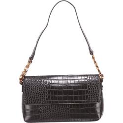 Handtasche Maris Baguette, Baguette Croco Black Handtasche