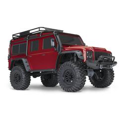 TRX-4  Land Rover Crawler 1/10 silber Crawler 2.4GHz (Link-fähig)  ohne Akku, ohne Lader