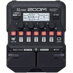 Zoom G1 FOUR Gitarreneffekt Multieffekt