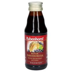 RABENHORST roter Rabenhorst mini Saft 125 ml