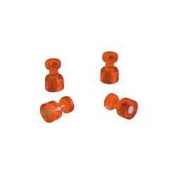 FRANKEN Memohalter Ø 18 mm orange 4 St