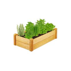 relaxdays Hochbeet Hochbeet Holz für Garten