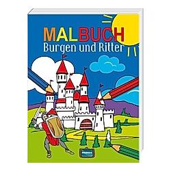 Malbuch Burgen und Ritter - Buch