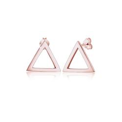 Elli Paar Ohrstecker Stecker Dreieck Geo 925er Silber, Dreieck