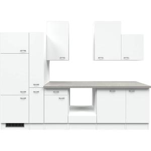 Flex-Well Küchenzeile ohne E-Geräte 310 cm L-310-2603-000 Wito