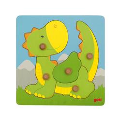 goki Steckpuzzle Steckpuzzle Drache, Puzzleteile