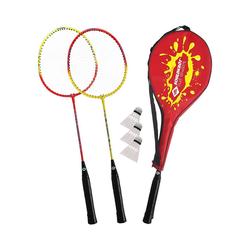 Schildkröt Badmintonschläger Federball Set 2-Player
