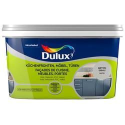 Dulux Holzlack Fresh Up, für Küchen, Möbel und Türen, beton grau, 2 l
