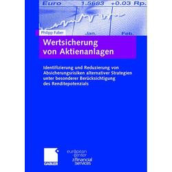 Wertsicherung von Aktienanlagen als Buch von Philipp Faber
