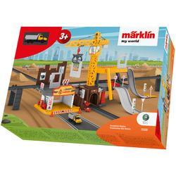 Märklin Modelleisenbahn-Baustelle my world - Baustellen Station 72222 bunt Kinder Schienen Zubehör Modelleisenbahnen Autos, Eisenbahn Modellbau