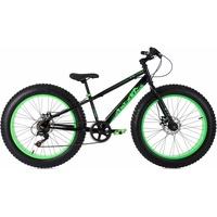 KS-CYCLING SNW2458 24 Zoll RH 33 cm schwarz/grün