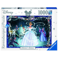 Ravensburger Puzzle 19678 Disney Collectors Edition Cinderella, 1000 Puzzleteile bunt