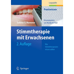 Stimmtherapie mit Erwachsenen: eBook von Sabine S. Hammer