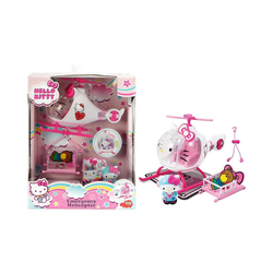JADA Spielzeug-Auto Hello Kitty Helicopter