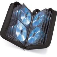 Hama 33833 CD-Wallet Nylon 120 schwarz