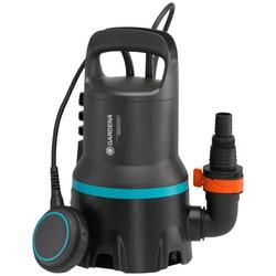 GARDENA Schmutzwasserpumpe Tauchpumpe 9000, 9040-20, 9000 l/h max. Fördermenge