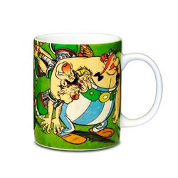 LOGOSHIRT Tasse mit tollem Helden-Print Asterix & Obelix with Romans bunt