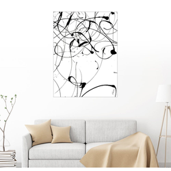 Posterlounge Wandbild, Verwirrung 60 cm x 80 cm