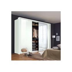 nolte® Möbel Schwebetürenschrank Marcato 2.1 mit Fronten aus Glas weiß