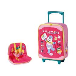 Zapf Creation® Puppen Accessoires-Set BABY born Holiday Trolley mit Puppensitz