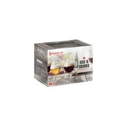SPIEGELAU Bierglas BBQ & Drinks Bierglas Biertulpe 6er-Set
