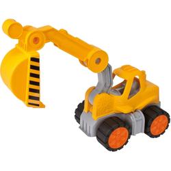 BIG Spielzeug-Bagger Power Worker Bagger gelb Kinder Ab 2 Jahren Altersempfehlung Spielzeugfahrzeuge