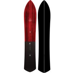 Nidecker Gun Snowboard 2020 carving powder light retro, Länge in cm: 174