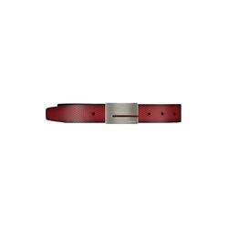 Lavard Roter Gürtel aus Leder 72689  90