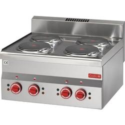Gastro M Elektroherd 6060PCE 4 Kochplatten GN018