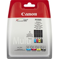 Canon CLI-551 CMYK Multipack