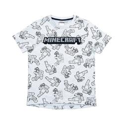 Minecraft T-Shirt T-Shirt MiningTeam light gray 152cm 128